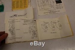 Vintage 1972 Heathkit RC Plane Car Boat Radio Control & Servos Manuals Parts WOW