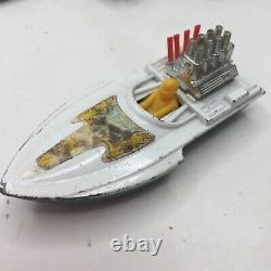 Vintage 1975 Matchbox Superfast #5 Sea Fire Race Boat 164 Parts Restore England
