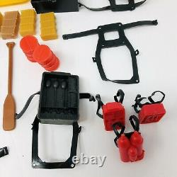 Vintage 1983 The A-TEAM Parts Accessories Weapons Tools Boat Raft Tent Lot