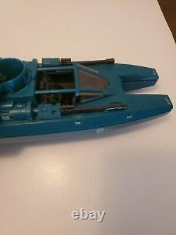 Vintage 1984 GI Joe Cobra Water Moccasin Vehicle Swamp Boat Incomplete parts