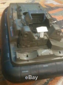 Vintage 1984 GI Joe Killer WHALE Hovercraft Boat Incomplete Parts/Repair