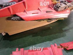 Vintage 1985 GI Joe Cobra Hydrafoil Boat Incomplete Parts or Repair
