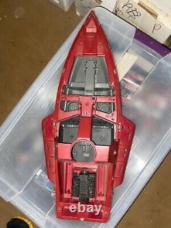 Vintage 1985 GI Joe Cobra Moray Hydrofoil Boat Incomplete Parts Accessories
