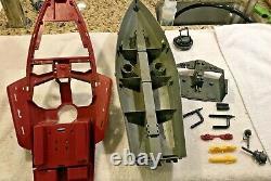 Vintage 1985 GI Joe Cobra Moray Hydrofoil-incomplete for restoration/parts