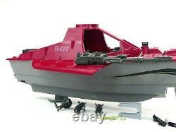 Vintage 1985 GI Joe Moray Hydrofoil Boat Vehicle Not Complete Parts