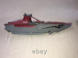 Vintage 1985 G. I. Joe Cobra Moray Hydrofoil Parts Boat