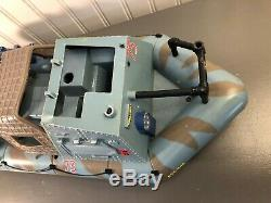 Vintage 1986 Lanard Toys The Corps Assault Vehicle Patrol Boat Navy For Parts