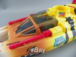 Vintage 1988 Hasbro GI Joe Cobra ARAH Tiger Force TIGER SHARK Boat with Parts