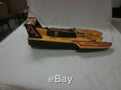 Vintage 1989 Remco THUNDER HAWK Racing Boat PARTS OR REPAIR