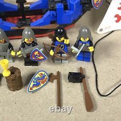 Vintage (1992) LEGO Castle Black Knights Boat set 6057 Sea Serpent -parts