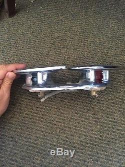 Vintage 50's Chrome Bow Navigation Light & Chock