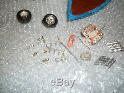 Vintage AMT 70`s Aqua Rod Chevy Van & Speed Boat Parts Lot