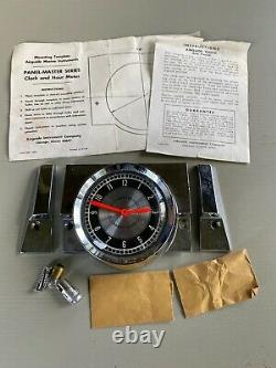Vintage Airguide Marine 8 Day Clock NOS Unused in Box with Parts for Boat