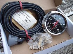 Vintage Airguide Sea Speed Marine Model 850 Boat Spedometer (NOS)