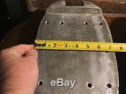Vintage Aluminum Boat PARTS Cleats PAIR 7.4 POUNDS EACH UNKNOWN BOAT PARTS