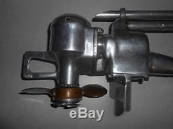 Vintage Antique 1930's Clark Troller Outboard Motor T38-519 H