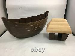 Vintage Arco Noah's Ark Toy Boat Playset 1970s Ark Parts