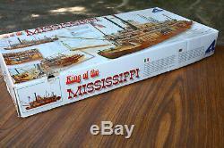 Vintage Artesania Latina King Of The Mississippi 1/80 Model River Boat Kit PARTS