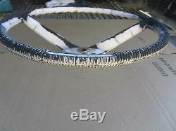 Vintage Attwood Boat Steering Wheel Used Worn, Rare, Parts Or Repair