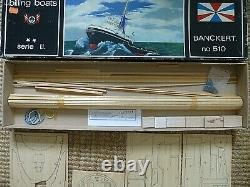 Vintage Billing Boats Banckert No 510 Incomplete Model Kit For Parts