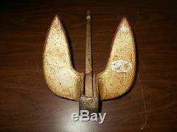 Vintage Boat Anchor-10 Lbs