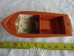 Vintage Boat Fleetline Battery Operated Plastic Ship Restore Parts Cabin Crusier