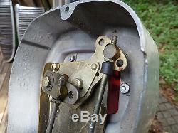 Vintage Boat Morse D31334 Throttle control & cables Right Hand Side Mounting