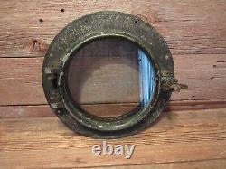 Vintage Boat Porthole Window Chris Craft Salvaged Boat Ship Parts