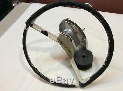 Vintage Boat Steering Wheel