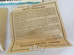 Vintage Boat-lite Kit By Burgess- Nos- Vintage Boat Parts-vintage Boat Light Kit