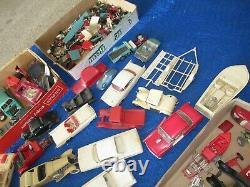 Vintage Car Models Parts Pieces Boat Trailer Aurora Maserati Revell Slant Six