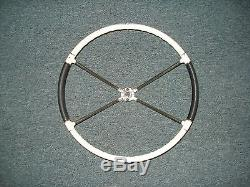 Vintage Car or Boat Steering Wheel, Correct Craft, Mercury Turnpike Cruiser