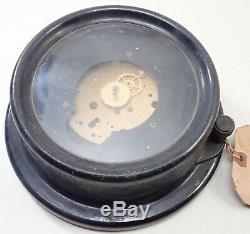 Vintage Chelsea Clock Co Boston Boat Ships Clock Parts Repair