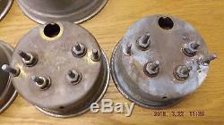 Vintage Chris Craft Twin Engine Instrument Panel Gauges With Timing Light