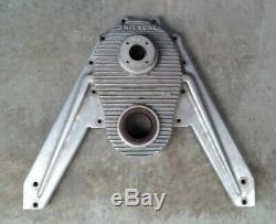 Vintage Chrysler Early Hemi Hot-Boat NICSON MARINE ALUMINUM TIMING COVER(witharms)