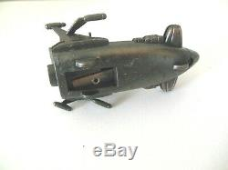 Vintage Die Cast Unusual Pencil Sharpener Boat Aircraft Movable Parts