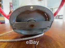 Vintage Duotrol Hyrdroplane Racing Boat Evinrude Mercury Steering Wheel