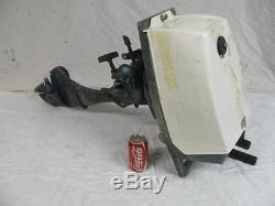 Vintage ESKA 5 HP Outboard Boat Motor