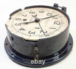 Vintage Electric Chelsea Clock Co Boston Us Navy Boat Ships Clock Parts
