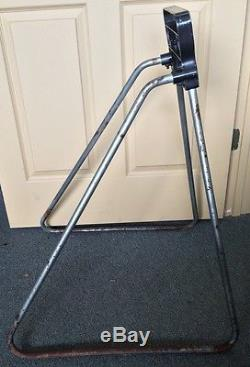 Vintage Evinrude Outboard Boat Motor Display Stand 33 X 25 X 23