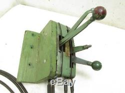 Vintage Evinrude Outboard Boat Motor Throttle Linkage Shifter Control Box Cables