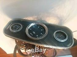 Vintage Faria Boat Chris Craft Dash Control Deluxe Gauges Parts/repair