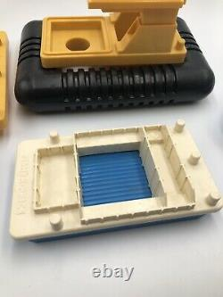 Vintage Fisher Price little people barge boat Off-Shore Cargo 945 Parts Part Lot