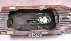 Vintage Fleet Fleet Toy Boat AS-IS for PARTS or REPAIR only