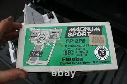 Vintage Futaba Magnum Junior FP-2PB Remote Controller Car Boat PARTS / REPAIR