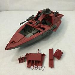 Vintage GI Joe Cobra Hydrofoil Moray Boat 1985 Parts Or Repair