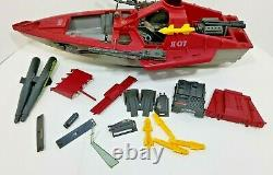 Vintage GI Joe Cobra Hydrofoil Moray Not Complete For Repair or Parts