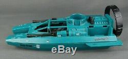 Vintage GI Joe Cobra Water Moccasin incomplete ARAH Boat 1984 Broken PARTS