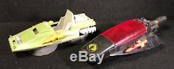 Vintage GI Joe Hovercraft Cobra Small Boat Ship Both Parts Or Repair