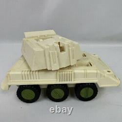 Vintage GI Joe Toy Vehicle Lot 1980s Hasbro Cobra Parts Tank Boat Action Figure